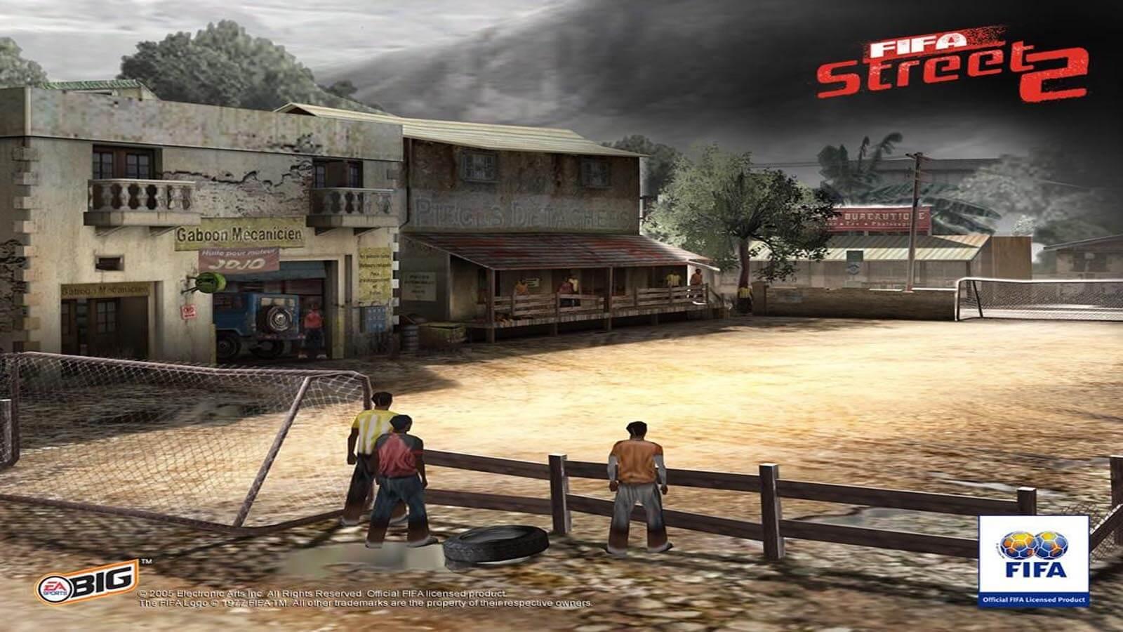 تحميل لعبة FIFA Street 2 مضغوطة برابط واحد مباشر كاملة مجانا
