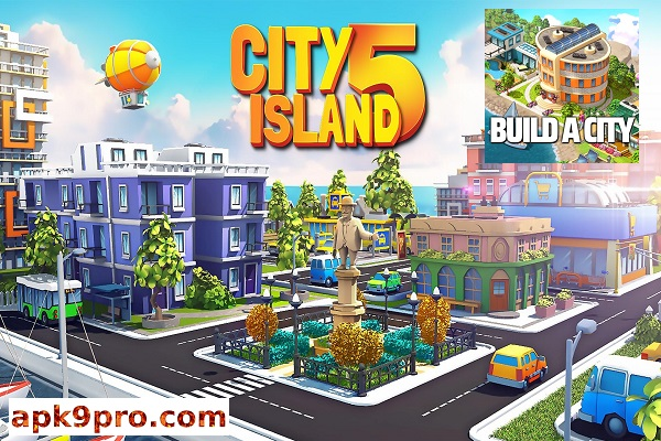 City Island 5 v2.16.6 Apk + Mod + Data File size 78 MB for android