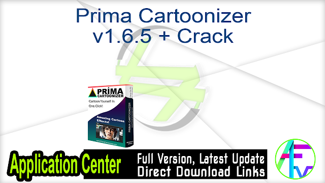 Prima Cartoonizer v1.6.5 + Crack