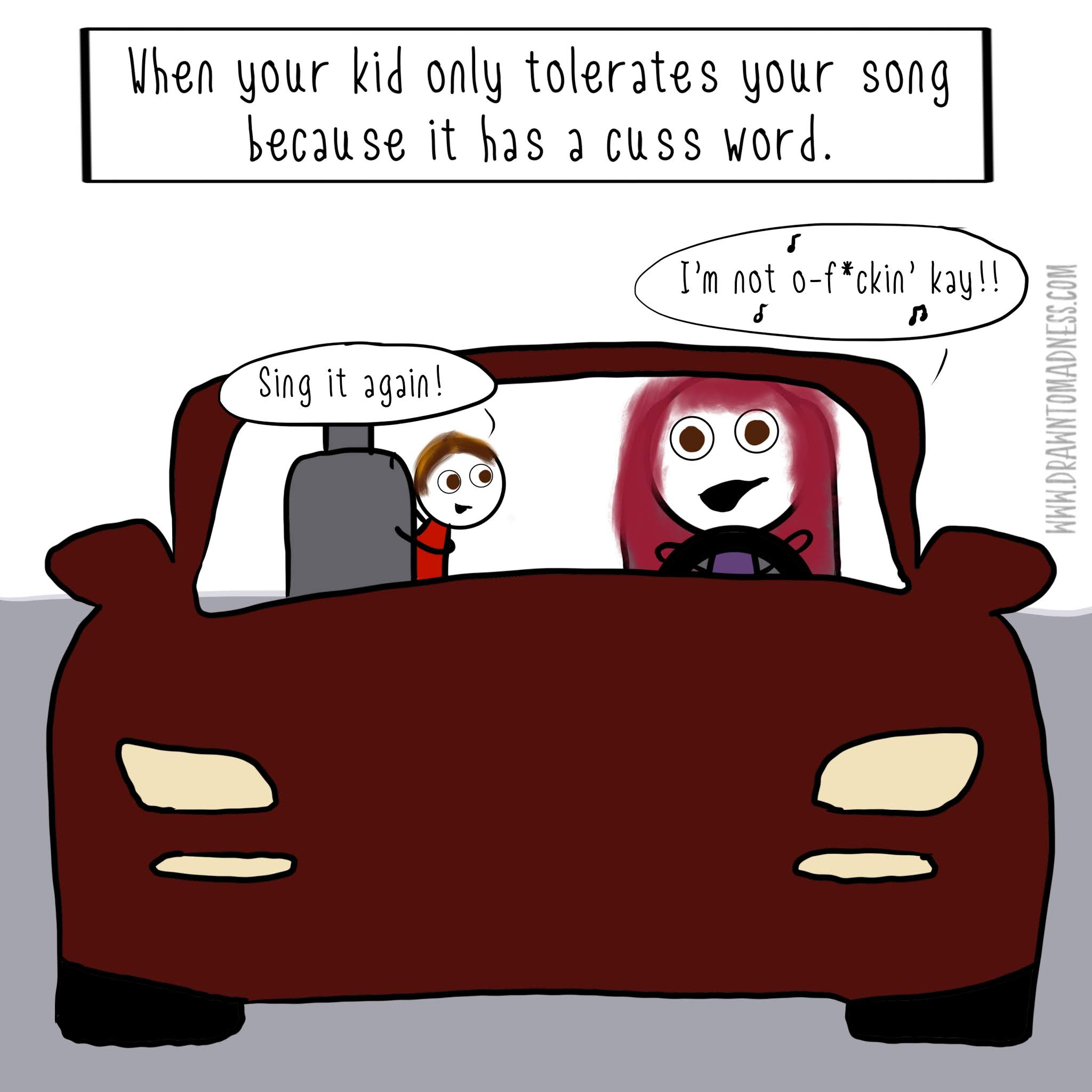 drawn to madness comic parent comics funny mom jokes dad meme