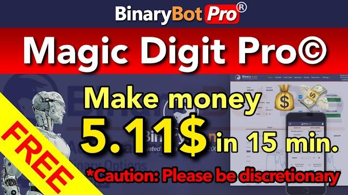 Magic Digit Pro© | Binary Bot Pro
