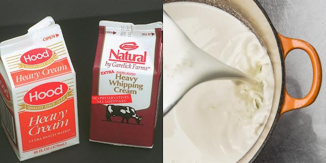 Bảo quản Heavy cream