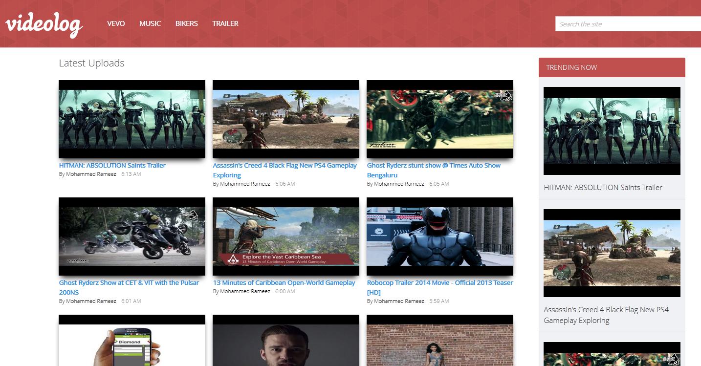 Template Videos. snowflake premium website template. transmutation ...