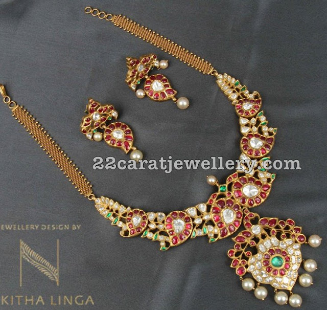 Latest Mango Set by Nikita Linga