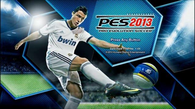 تحميل لعبة بيس PES 2013 للكمبيوتر كاملة مضغوطة من ميديا فاير - مستعجل
