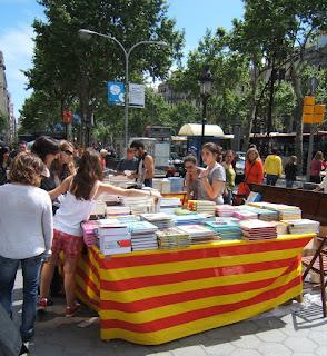 Dia del Libro y la Rosa - Barcelona