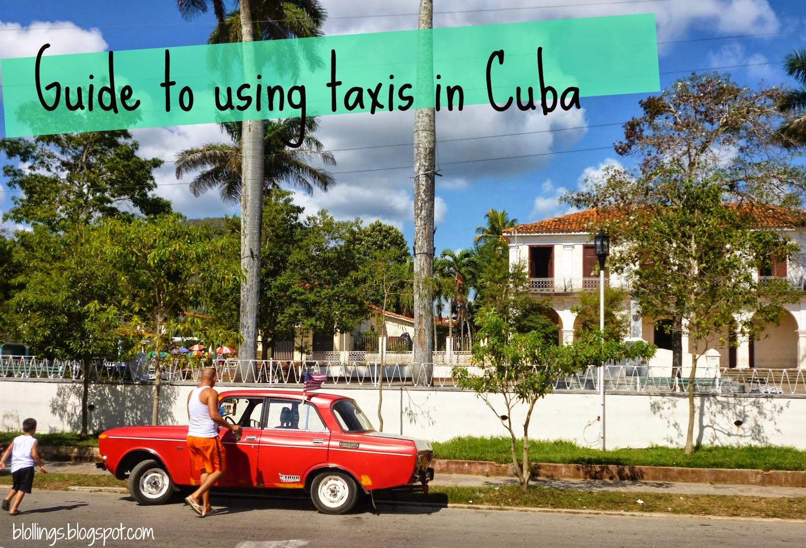 Blollings: HOW TO USE TAXIS IN CUBA/HAVANA! Cubataxi