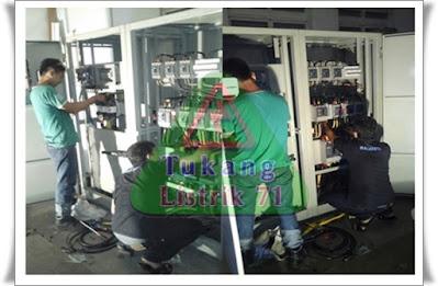 pembuatan dan service panel ats-amf
