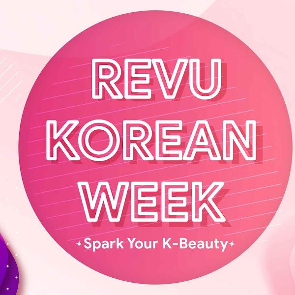 Revu Korean Week, 155 Produk Korea Siap di Bagikan Gratis