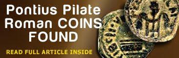 Pontius Pilate Roman Coins Discovered.
