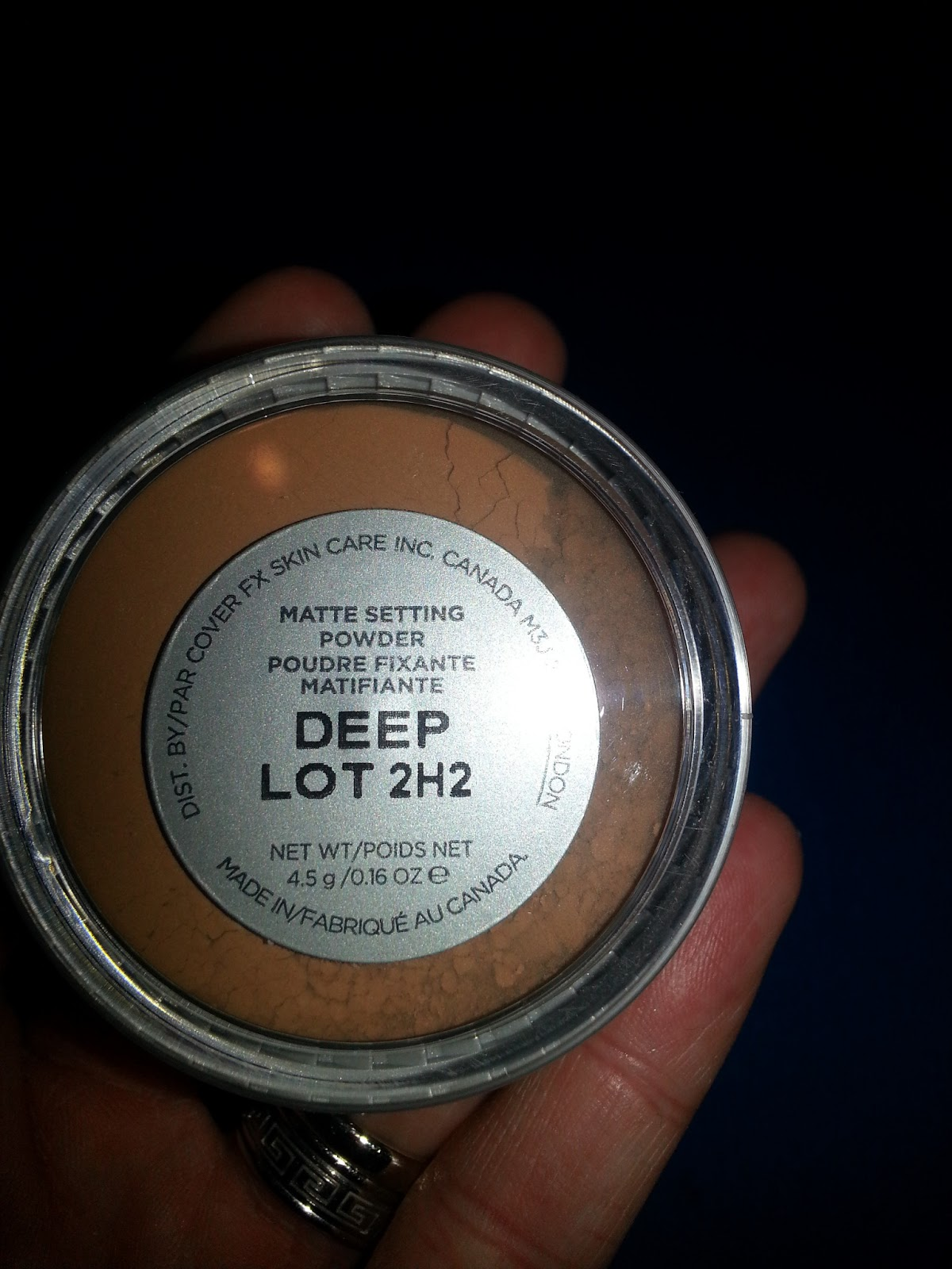 Matte Setting Powder by Cover FX #14