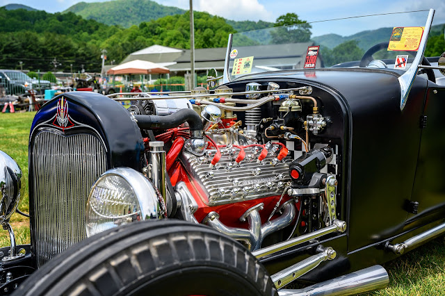 Hotrod at the Icons of Hotrodding Festival
