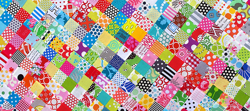 Red Pepper Quilts Postage Stamp Quilt Tutorial