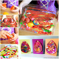 Plastic Easter Egg Art Ideas