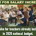 Pay hike for teachers already included in 2020 national budget