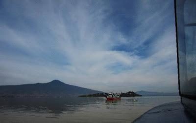 La Isla de la Pacanda en el Lago de Pátzcuaro, Michoacán