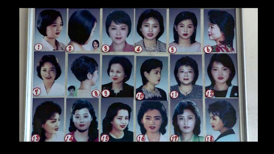 Corte de cabello mujer corea del norte