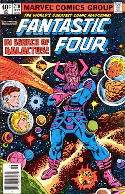 Fantastic Four #210, Galactus