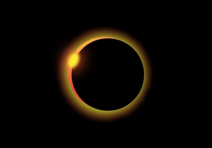 Solar Eclipse in Adobe Illustrator