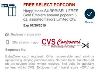 CVS Extra Care Happiness Event free cvs couponers