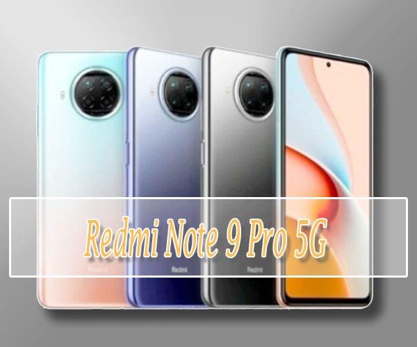 Spesifikasi Redmi Note 9 Pro 5G