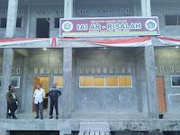 Pembangunan Gedung Perkuliahan STIT Ar-Risalah INHIL-RIAU