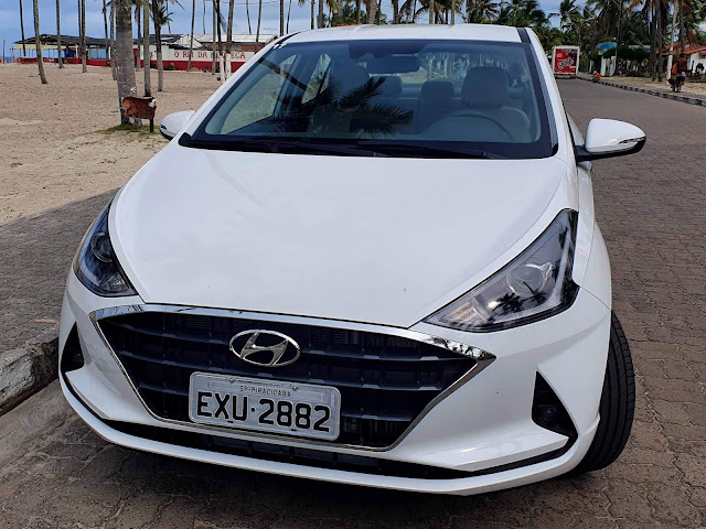 Novo Hyundai HB20S (Sedã) 2020 - Frente