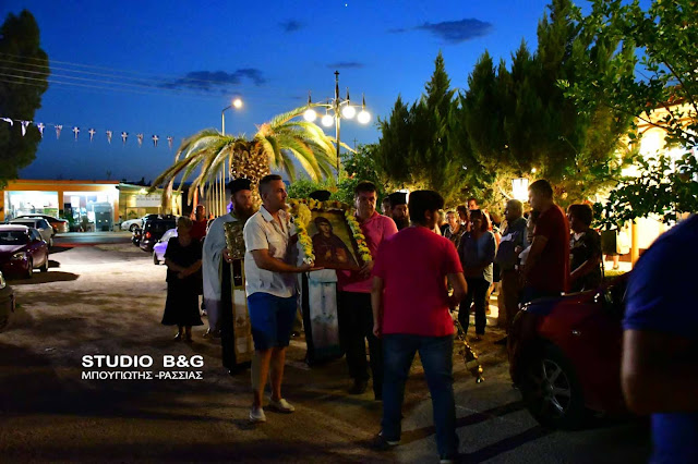 Η εορτή της Αγίας Ευφημίας στο Ναύπλιο