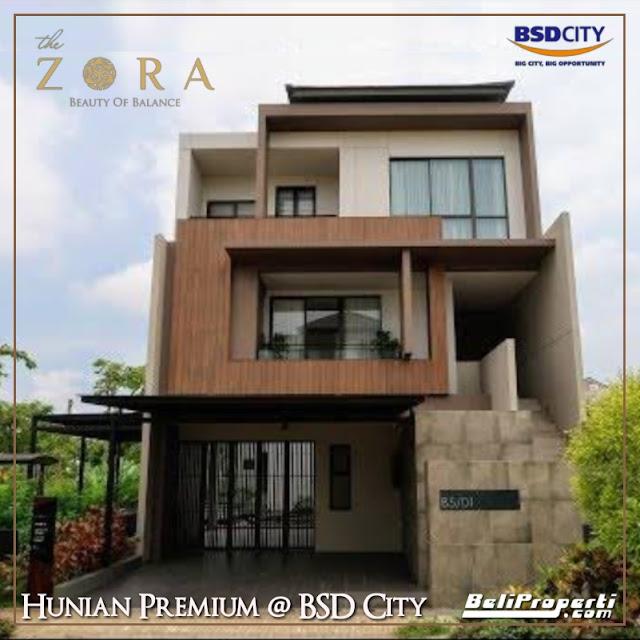 perumahan the zora bsd city