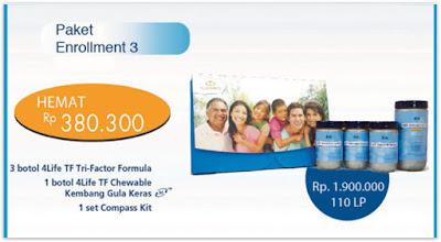 Paket Enrollment #3 4life Transfer Factor