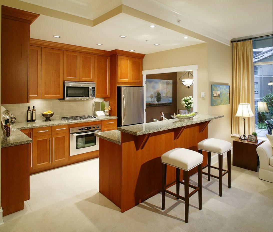 46 Desain Interior Dapur Kayu Modern dan Elegan  Rumahku Unik