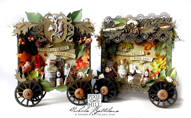 Woodsy and Thistle Fairy Cart - Nichola Battilana