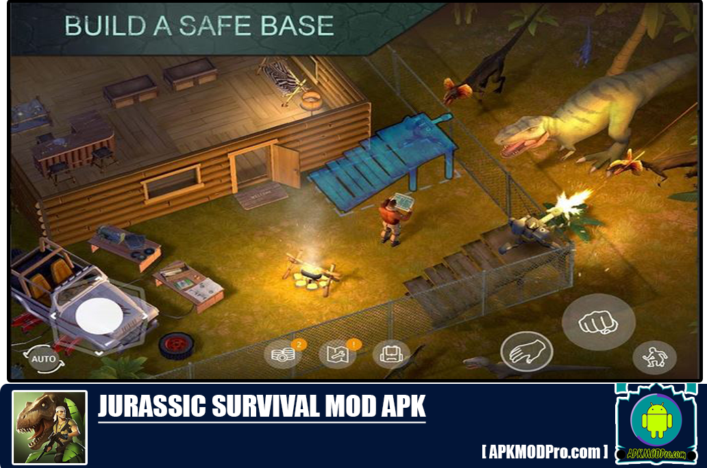 Download Jurrassic Survival Mod Apk