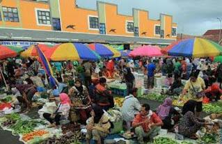 Pasar Tumenggungan Kebumen Jawa Tengah