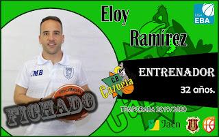 Eloy Ramírez dirigirá al CB Cazorla tras la marcha de Nicolás Justicia