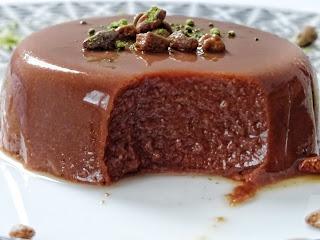 {Dessert healthy} : Flan vegan cacao cru- Iswari
