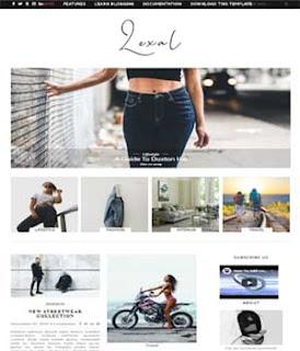 lexel-free-responsive-blogger-template
