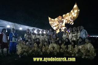 Pose bersama di Singosari Lampion Festival 2018