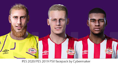 PES 2020 / PES 2019 Celtic Facepack by Cybermaker
