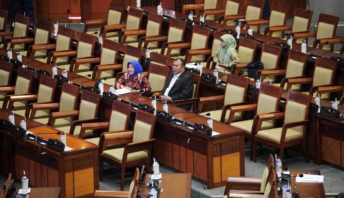 Total Anggota DPR Ada 575 Orang, Hanya 287 yang Hadiri Rapat Paripurna Penutupan Masa Sidang