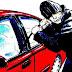 घर के बाहर खड़ी कार चोरी