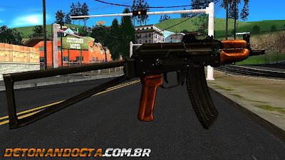 GTA SA - Bright AKS-74U