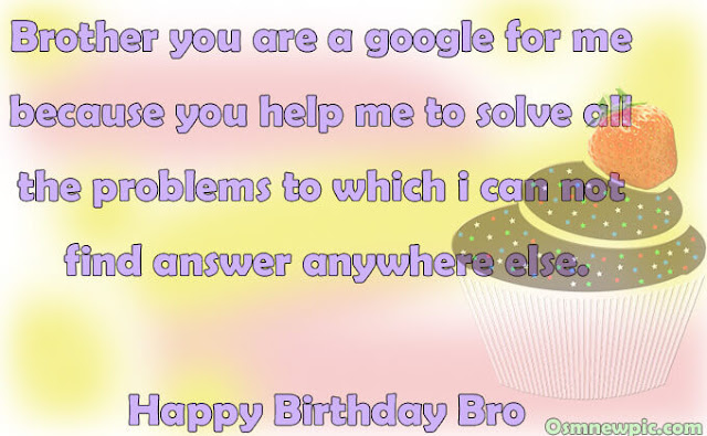 Happy Birthday brother For Facebook