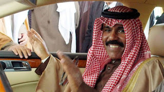 The new Emir of Kuwait