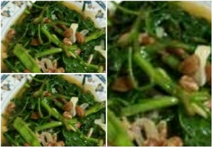 Resep Tumis Kangkung Udang Ebi dan Cabai Hijau Enak Sekali untuk Makan Siang