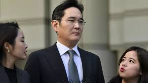 South Korea's Samsung chief jailed for 2.5 years over corruption scandal