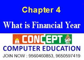 Chapter 4 : What is Financial Year in Hindi