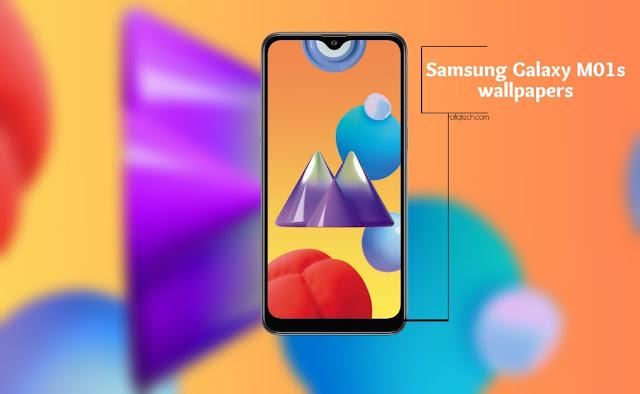 تحميل خلفيات سامسونج غالاكسي  Samsung Galaxy M01s