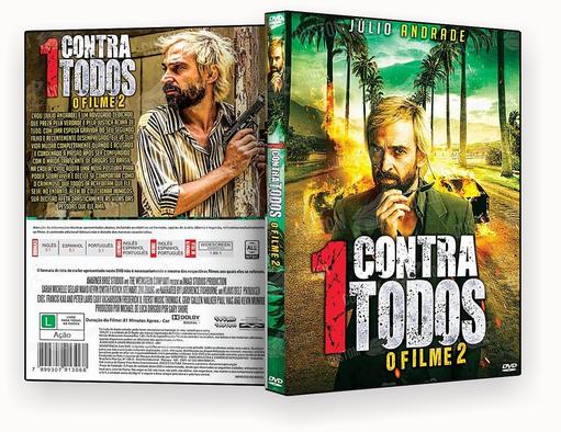 CAPA DVD – Contra Todos 2 O Filme DVD-R 2018
