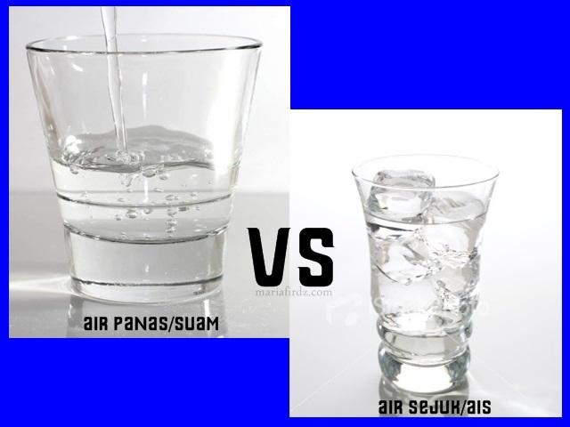 Amal Minum Air Sejuk atau Air Panas, Mana Lebih Baik?